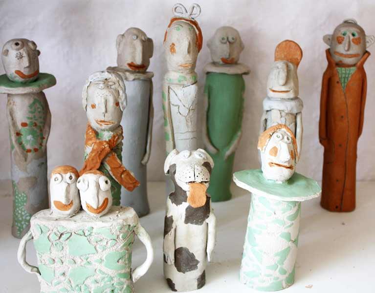 Verwonderend Keramikids - Workshops Kleien en boetseren voor kinderen op maat AR-39